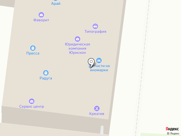ВекторПроект на карте Искитима