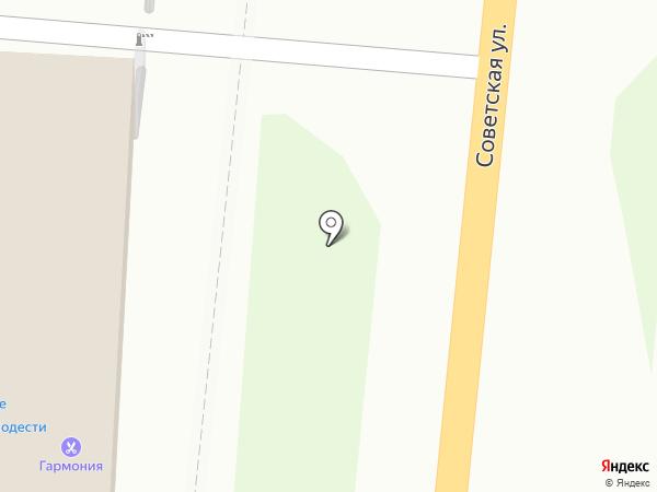Пирант на карте Искитима