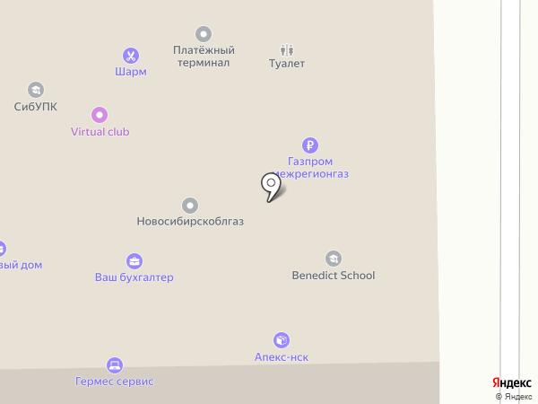 Новосибирская областная общественная организация защиты прав потребителей на карте Искитима