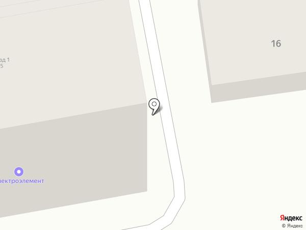 Электроэлемент на карте Искитима