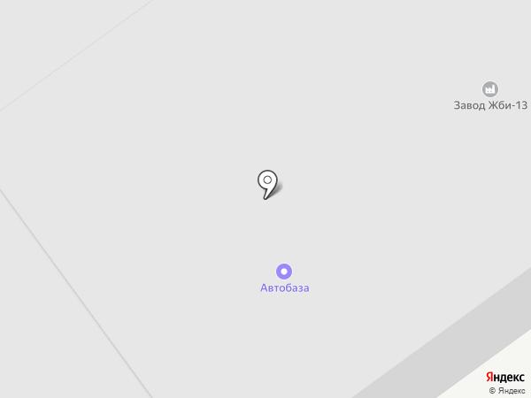 Искитимский завод строительных материалов на карте Искитима