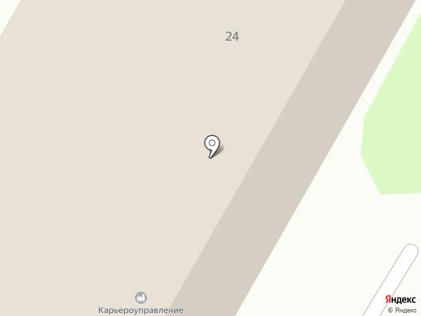 Новосибирское карьероуправление на карте Искитима