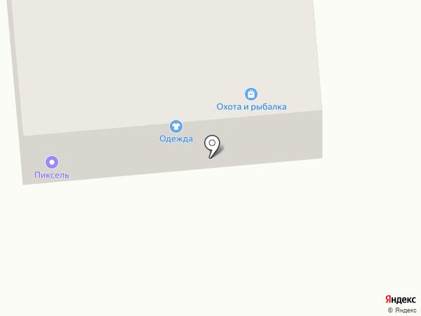 Магазин товаров для рыбалки, охоты и туризма на карте Черепаново