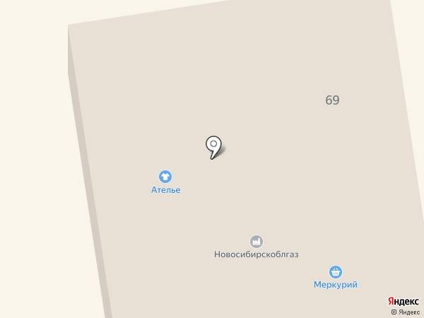 Компания по изготовлению мебели на карте Черепаново