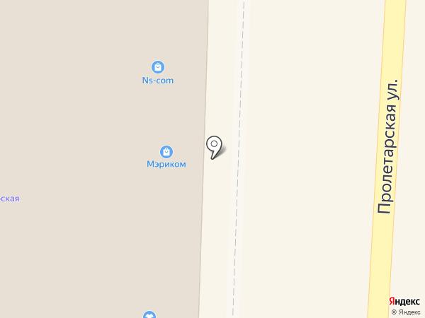 Салон-парикмахерская на карте Черепаново
