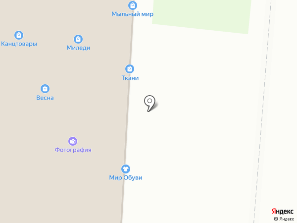 Магазин тканей на карте Черепаново