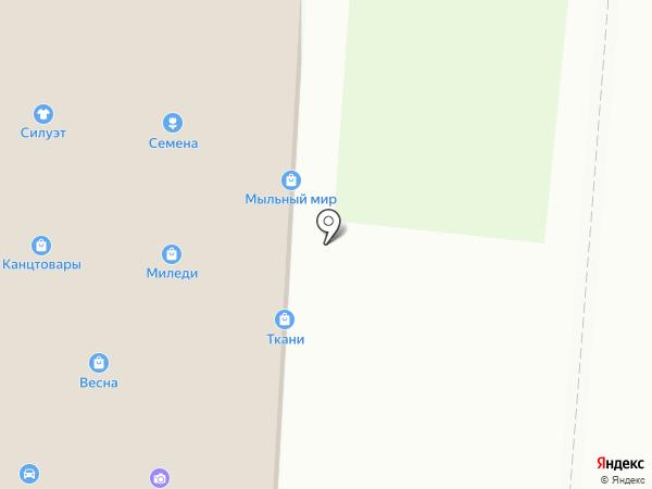 Дионис на карте Черепаново
