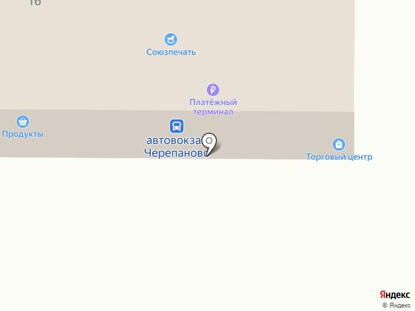Общественный туалет на карте Черепаново