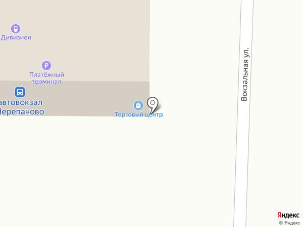 Киоск по продаже хлебобулочных изделий на карте Черепаново