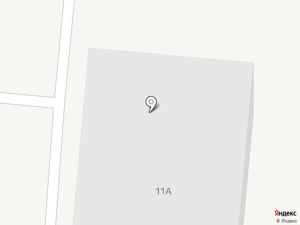 Кристалл на карте Барнаула