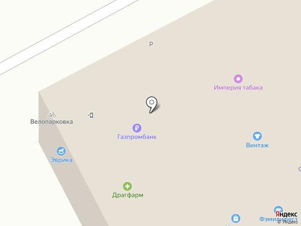 TELE2 на карте Барнаула