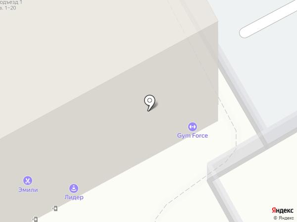 GYM FORCE на карте Барнаула