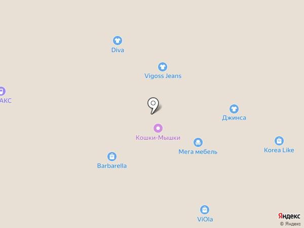 Avelon на карте Барнаула