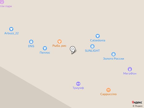Calzedonia на карте Барнаула