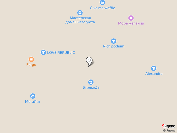 ARTY на карте Барнаула