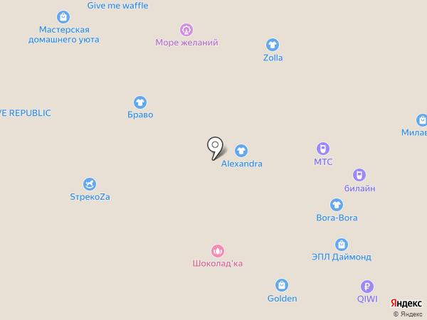 Bambino на карте Барнаула