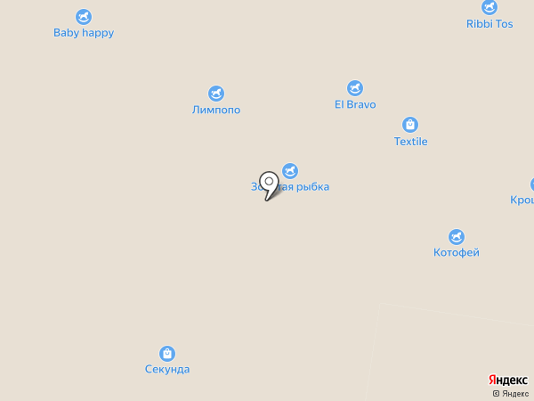 Кривые зеркала на карте Барнаула