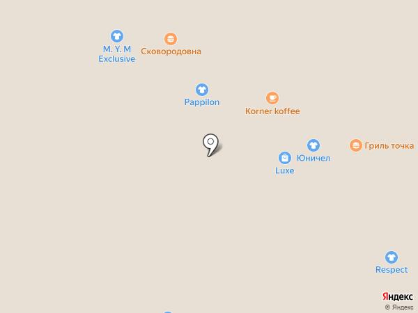 Körner köffee на карте Барнаула