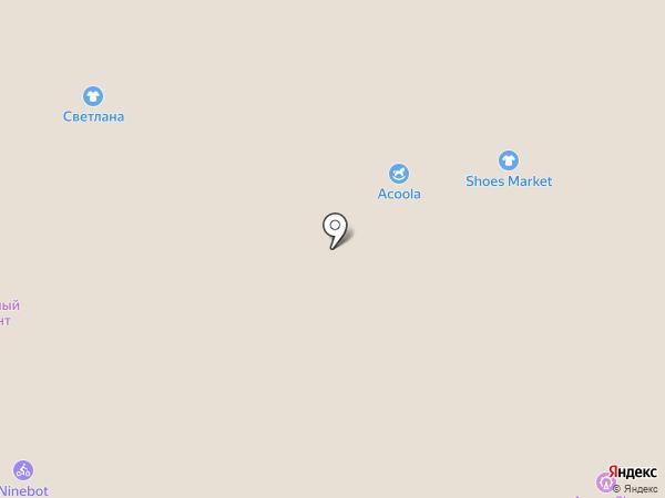 Acoola на карте Барнаула