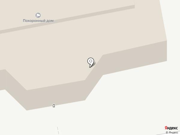 Барнаульский похоронный дом на карте Барнаула