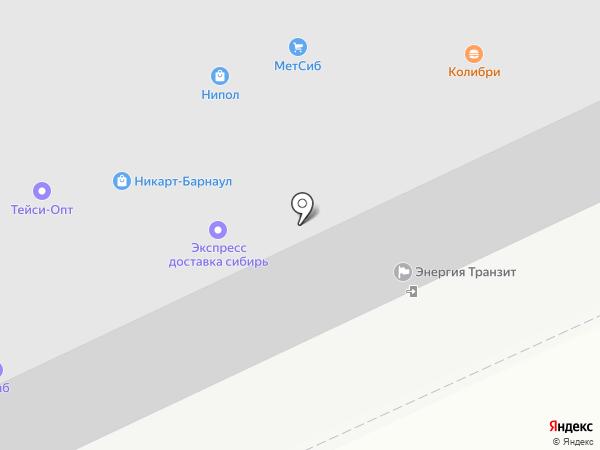 ИзЭкс на карте Барнаула