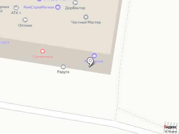 ФорМА на карте Барнаула