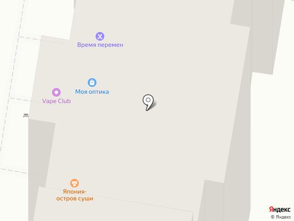 Барнаулкапстрой на карте Барнаула