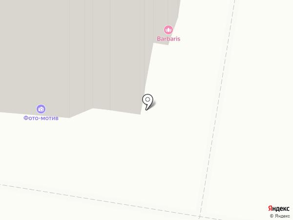 Фото-мотив на карте Барнаула