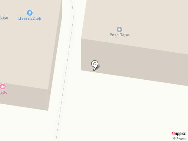 Матрёнка на карте Барнаула