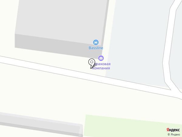 RMS-AUTO на карте Барнаула