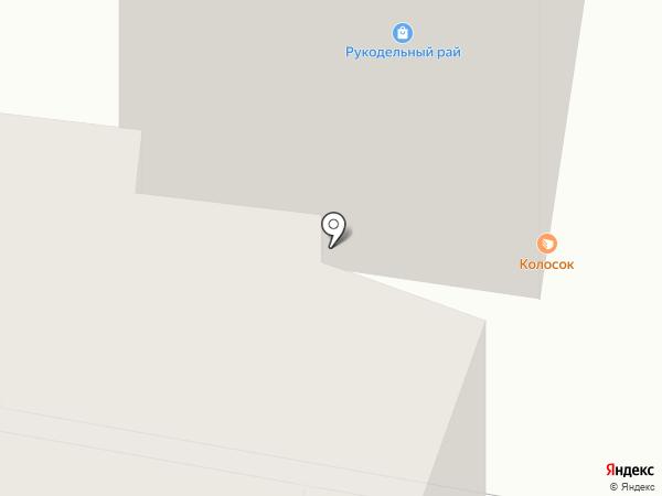 Дружина на карте Барнаула