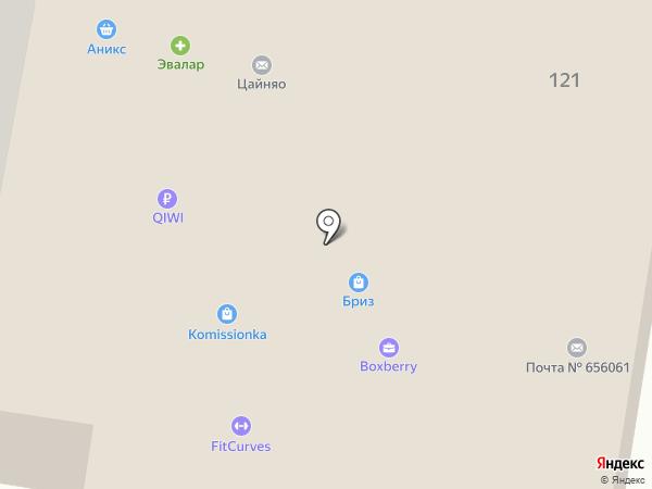 Фотомания на карте Барнаула