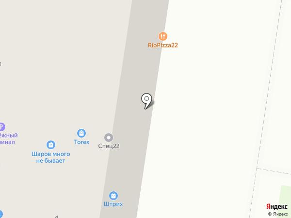 Шаров Много Не Бывает на карте Барнаула