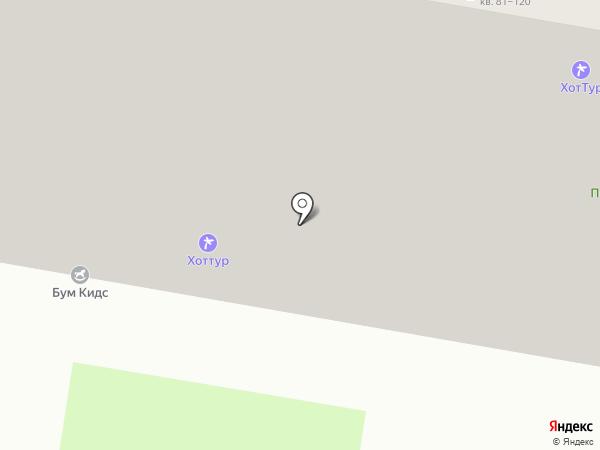 Семейная парикмахерская на карте Барнаула