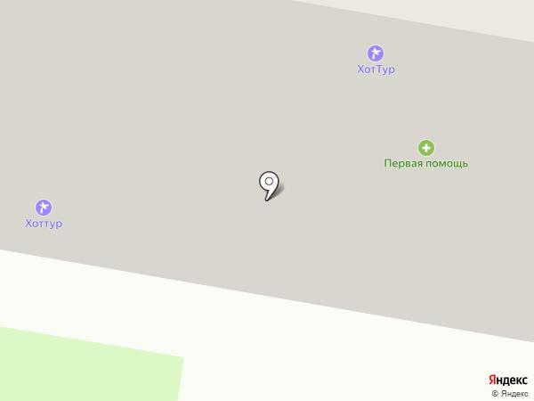Магазин мясных полуфабрикатов на карте Барнаула
