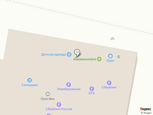 Лилия на карте Барнаула