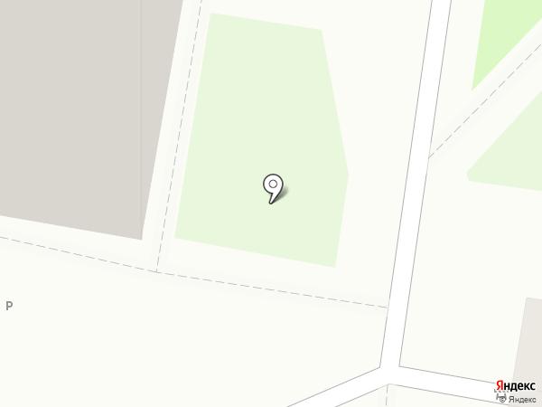 Ласточка на карте Барнаула