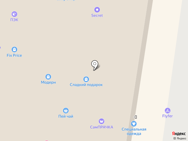 Лесная братва на карте Барнаула