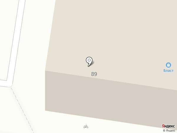 ЗЕФИР на карте Барнаула