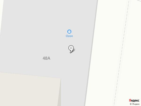 Жбанек на карте Барнаула