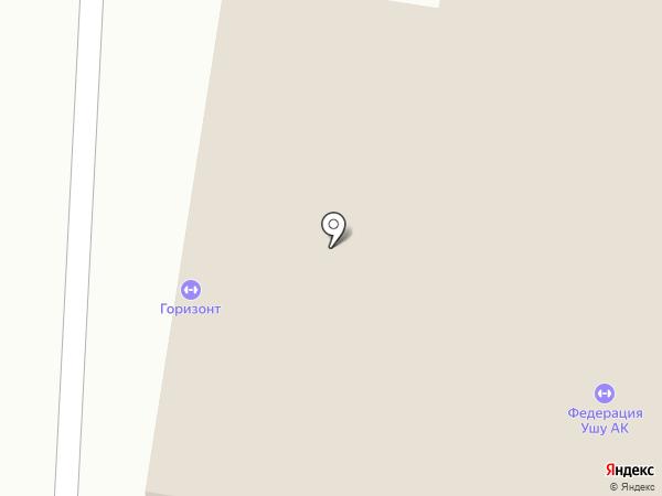 Адели на карте Барнаула