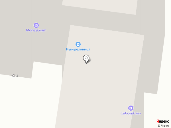 PROFESSIONNEL на карте Барнаула