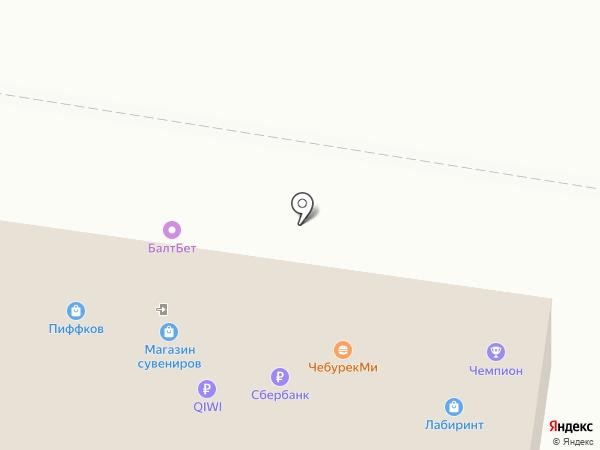 ЛАД на карте Барнаула