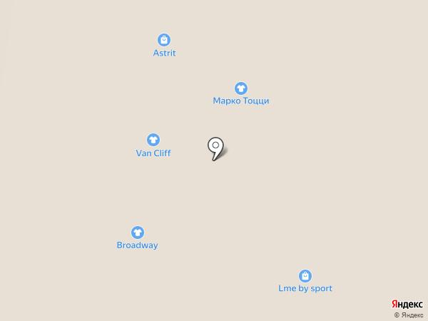 Taya на карте Барнаула