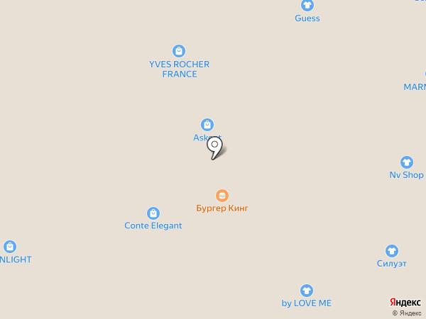 Непоседа на карте Барнаула