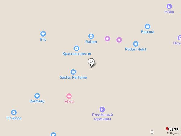 7D капсула на карте Барнаула