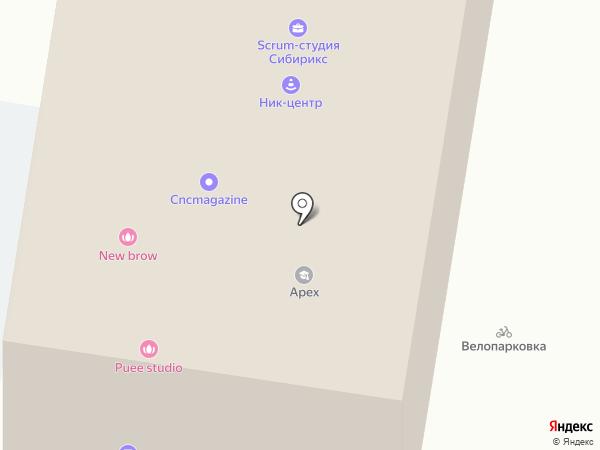 Компания по сдаче помещений в аренду на карте Барнаула