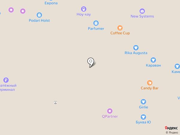 Pandora на карте Барнаула