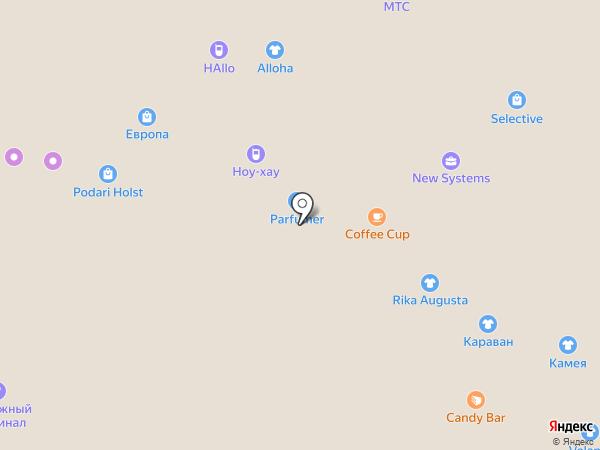Belta на карте Барнаула