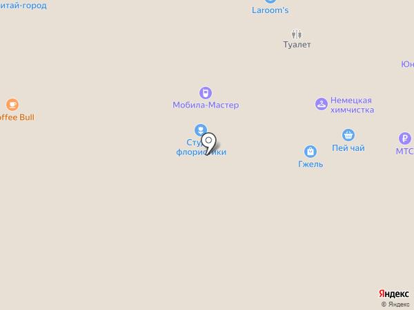 Лапландия на карте Барнаула